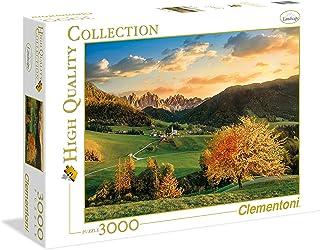 Clementoni Adult The Alps 3000-Pieces Puzzle, Multi-Colour,33545