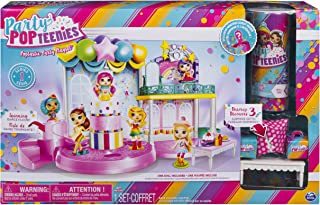 Party Popteenies - Poptastic Party Playset with Confetti, Exclusive Collectible Mini Doll and Accessories, for Ages 4 and ...
