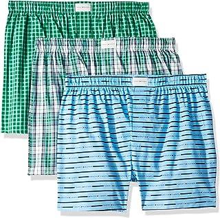 Tommy Hilfiger Men's Underwear Multipack Cotton Classics Woven Boxer