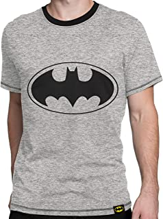 / Face To Face Nero Batman DC Comics Maglietta da Uomo/  S-XL