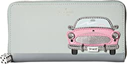 Kate Spade New York - Checking In Pink Car Applique Lacey
