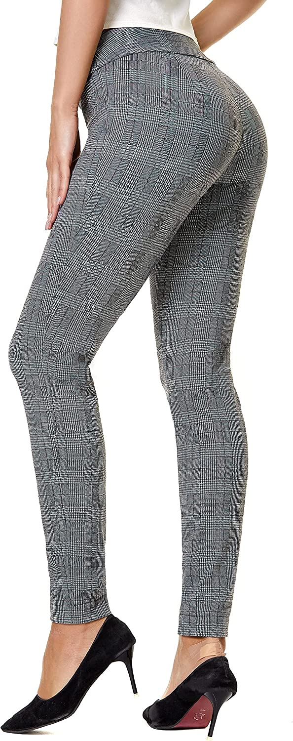All items in the store SATINATO Women's Straight Pants Stretch Solid Slim Trouse Skinny Max 79% OFF