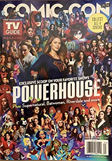 TV GUIDE COMIC-CON MAGAZINE - ISSUE 93 2019 - POWERHOUSE