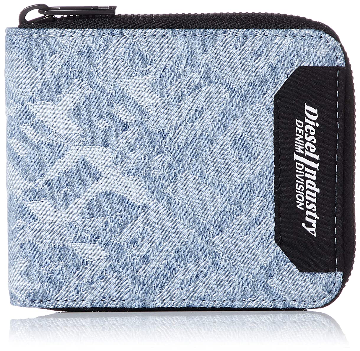 困難スキャンダル近代化(ディーゼル) DIESEL メンズ リピートロゴ 二つ折り財布 X06158P2514