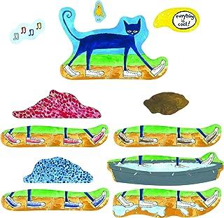 Little Folk Visuals Pete the Cat: I Love My White Shoes Precut Flannel/Felt Board Figures, 12 Pieces Set
