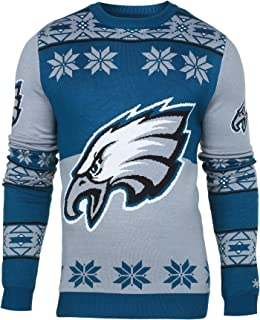 FOCO NFL Klew Big Logo Ugly Sweater