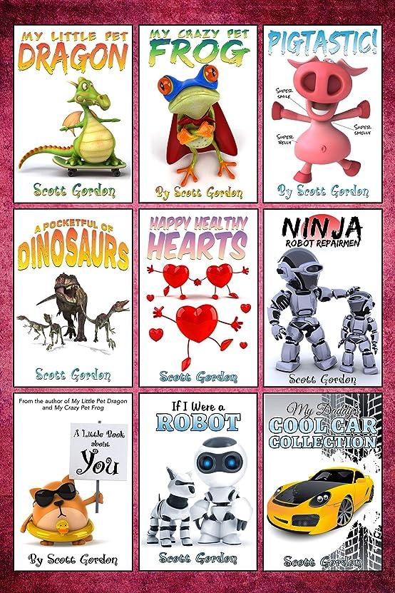 飼料無限登場Mega Collection #1: Nine Awesome Bedtime Stories for Children 3-5 (English Edition)