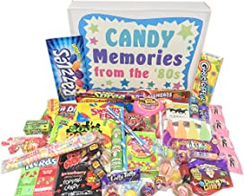 Woodstock Candy ~ Gift Box Old School 80s Eighties Candy Retro Nostalgic Gift Assortment Memories 1980s Candy for Man or Woman