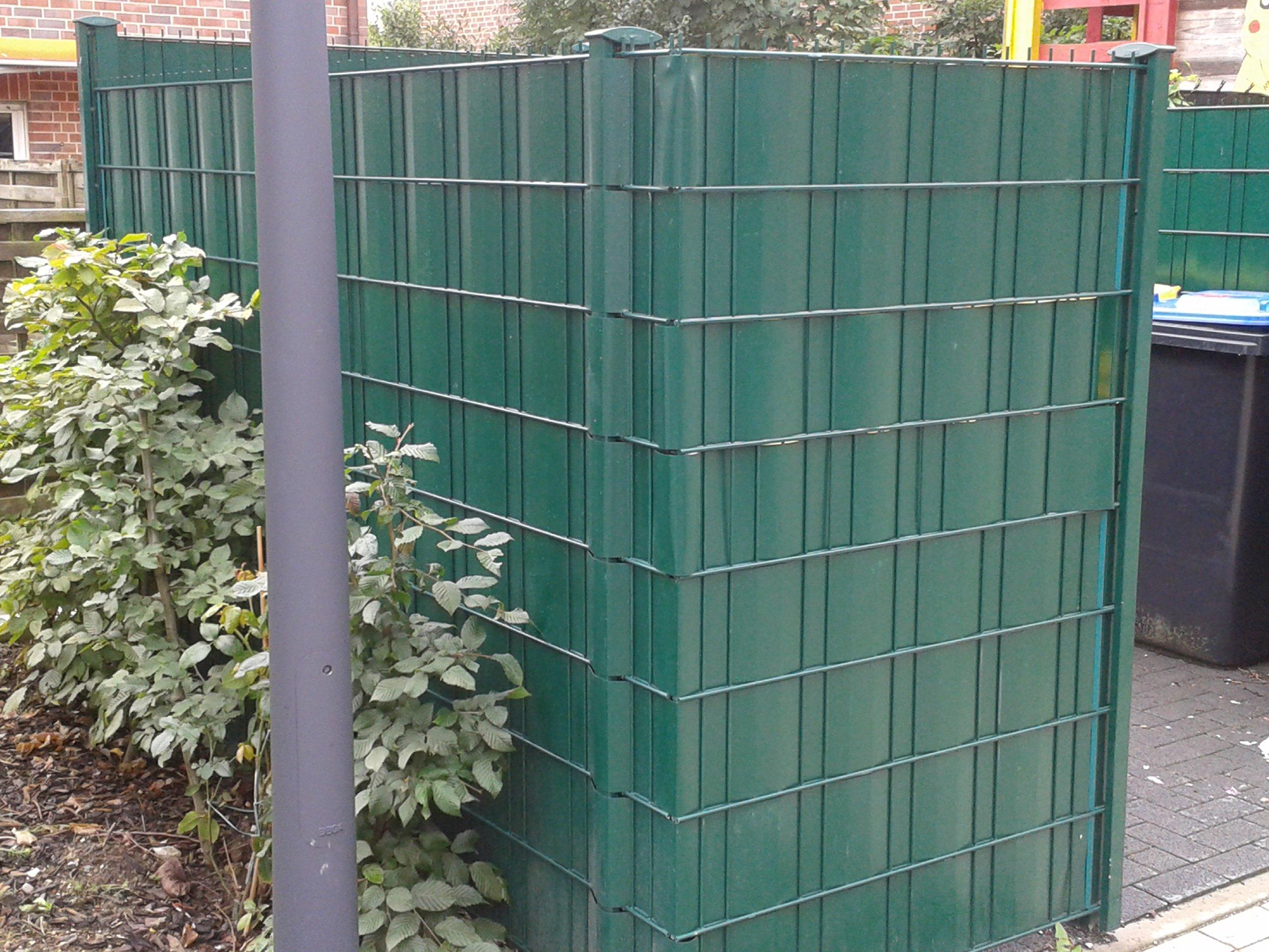workingHOUSE Vallas para Jardin, Extra Grueso, Cercado Ocultacion de PVC de Primera Calidad de 35m x 19 cm 650gsm de Grosor, Incluye 26 Tiras de Sujeción (Gris Oscuro): Amazon.es: Jardín
