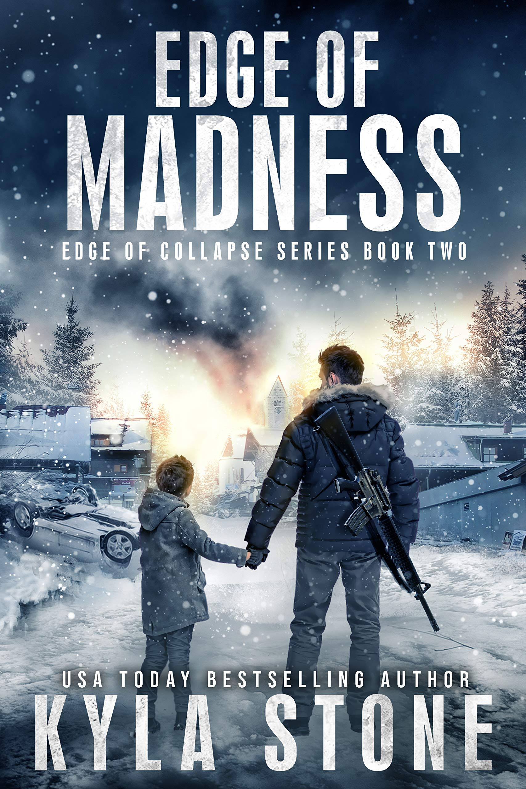 Edge of Madness: A Post-Apocalyptic EMP Survival Thriller (Edge of Collapse Book 2)