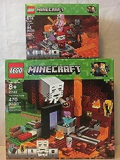 LEGO Minecraft the Nether Portal & LEGO Minecraft the Nether Fight