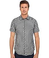 G-Star - Landoh Clean Short Sleeve Shirt in Gingham Poplin Check