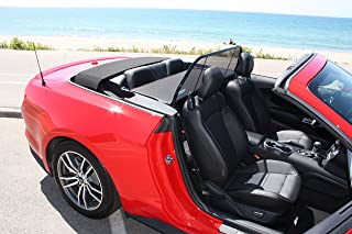 Love The Drive Mustang Convertible 2015 to 2018 By trade; the #1 Accessory for Convertibles. Wind Deflectors Are Also Known As: Wind Screen, Windscreen, Windstop and Wind Blocker
