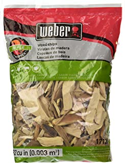 Weber Wood Cubic Meter Stephen Products 17138 Apple Chips, 192 cu. in. (0.003 cubi