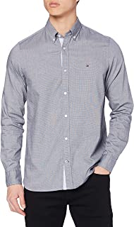 Tommy Hilfiger Slim Mini Houndstooth Shirt Chemise Homme