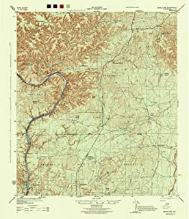 Texas Maps - 1944 Devils Lake, TX USGS Historical Topographic Map - Cartography Wall Art - 44in x 53in