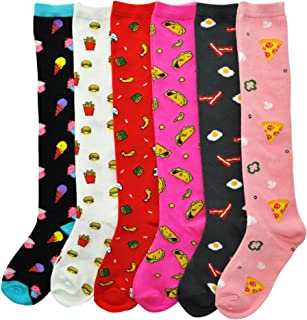 6d5ee8a78 Angelina Novelty Assorted KNEE HIGH Socks