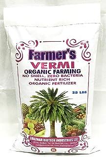 Vermicompost for Organic Farming | 25 LBS