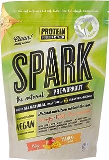 Protein Supplies Australia Spark All Natural Pre-Workout Powder Mango, 250 grams