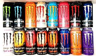Monster Energy Drink Variety Pack 2-16 count