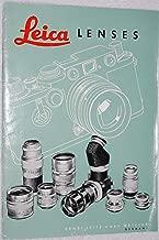 Leitz Leica Lenses (Camera Lenses)