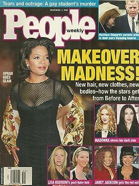 Oprah Winfrey, Madonna, Janet Jackson, Lisa Kudrow, Matthew Shephard - November 2, 1998 People Weekly Magazine