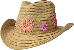 Summer Blooms Panama Hat
