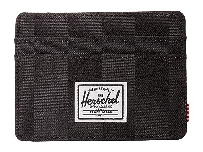 Herschel Supply Co. Charlie RFID (Black) Wallet Handbags