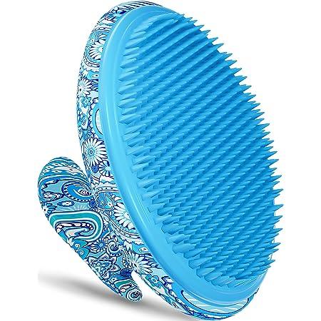 Exfoliating Brush, Ingrown Hair and Razor Bumps Treatment for Women, Keratosis Pilaris KP Body Exfoliator Brush for Bikini, Legs, Arms - Anti-Slip Solution by Dylonic