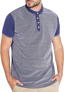 e0b06f338d Brave Soul Mens Alias Short Sleeve Cotton Polo Shirt