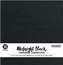 Colorbok Textured Cardstock Paper Pad, 12