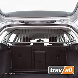 Travall Guard Compatible with Volkswagen Golf Wagon Without Sunroof (2013-Current) Golf Alltrack (2015-Current) TDG1407 - Rattle-Free Steel Pet Barrier