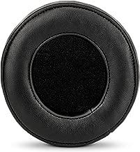 BRAINWAVZ Round Sheepskin Leather Earpads - Fits Many Large Headphones - SteelSeries, HD668B, ATH, AKG K553, HifiMan, ATH, Philips, Fostex, Sony Memory Foam Ear Pad & More