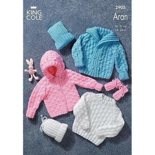 4f30635d2a84 Baby Jacket Knitting Pattern  Amazon.co.uk