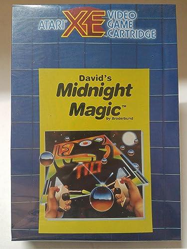 Garantía 100% de ajuste Atari Magia de Medianoche Pinball de David como XE y y y XL Sistemas  minorista de fitness