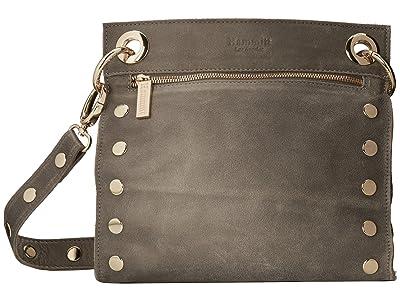 Hammitt Tony Med (Pewter/Gold) Handbags