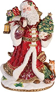 Fitz and Floyd 49-659 Santa Figurine Renaissance Holiday