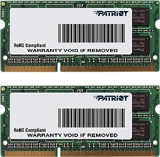 Patriot Memory Apple用 DDR3 ノートPC用メモリ SO-DIMM デュアルキット DDR3-1600 PC3-12800 8GB x2 CL9 1.5V - PSA316G1600SK