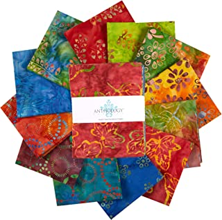Anthology Batiks Celebration Fat Quarter Bundle Multi