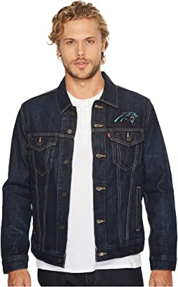 Panthers Sports Denim Trucker