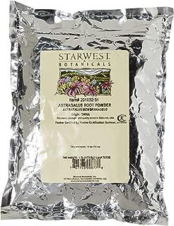 Starwest Botanicals Astragalus Root Powder, 1 Pound