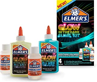 Elmer's Glow-in-the-Dark Slime Kit 胶水(2062242)