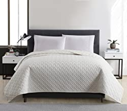 VCNY Home Emma Quilt Full/Queen Ivory