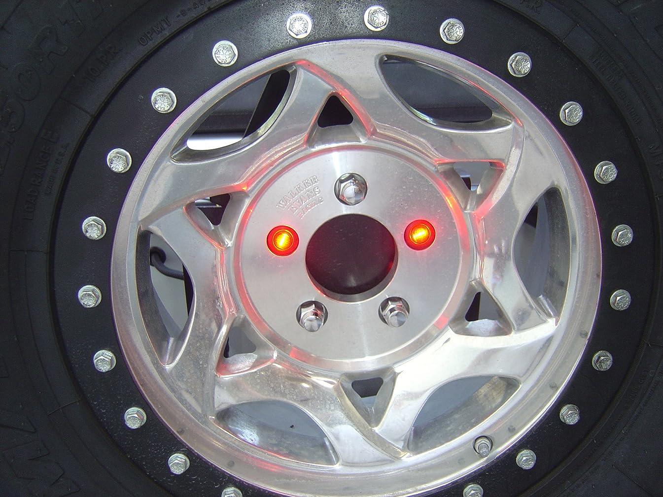 Delta Lights (01-6581-50) Lug-NUT-LITE Universal Waterproof LED 3rd Brakes Light for Spare Tire