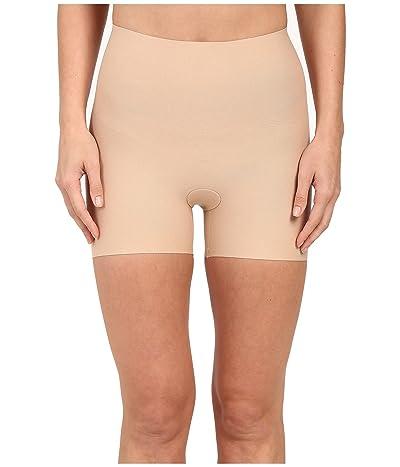 Commando Cotton Control Shortie Shorts CC214 (Nude) Women