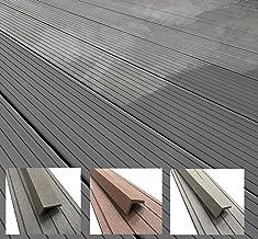L W T 2220mm SECONDS 21mm 145mm Blooma Oder Grey Composite Deckboard