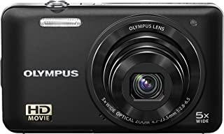 Olympus VG-160 14MP Digital Camera with 5x Optical Zoom (Black) (Old Model)