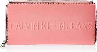 Calvin Klein Zip Around Wallet for Women-Pop Pink