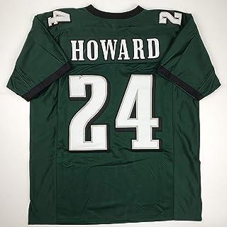 Unsigned Jordan Howard Philadelphia Green Custom Stitched Football Jersey Size Men`s XL New No Brands/Logos