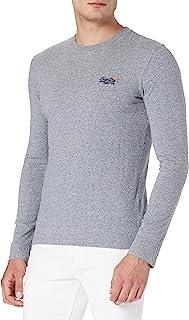 Superdry Men's OL Vintage EMB LS TOP NS T-Shirt